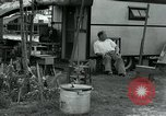 Image of trailer camp Miami Florida USA, 1936, second 34 stock footage video 65675031898