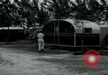 Image of trailer camp Miami Florida USA, 1936, second 49 stock footage video 65675031898