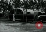 Image of trailer camp Miami Florida USA, 1936, second 51 stock footage video 65675031898