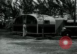 Image of trailer camp Miami Florida USA, 1936, second 52 stock footage video 65675031898