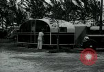 Image of trailer camp Miami Florida USA, 1936, second 53 stock footage video 65675031898