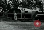 Image of trailer camp Miami Florida USA, 1936, second 54 stock footage video 65675031898