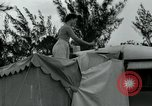 Image of trailer camp Miami Florida USA, 1936, second 57 stock footage video 65675031898