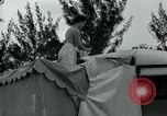 Image of trailer camp Miami Florida USA, 1936, second 58 stock footage video 65675031898