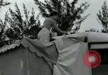 Image of trailer camp Miami Florida USA, 1936, second 60 stock footage video 65675031898