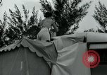Image of trailer camp Miami Florida USA, 1936, second 62 stock footage video 65675031898