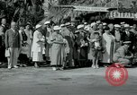 Image of tourists at Seminole Native American Indian trading post Miami Florida USA, 1936, second 11 stock footage video 65675031908
