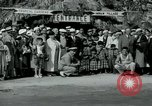 Image of tourists at Seminole Native American Indian trading post Miami Florida USA, 1936, second 13 stock footage video 65675031908