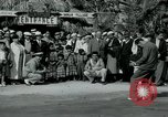 Image of tourists at Seminole Native American Indian trading post Miami Florida USA, 1936, second 14 stock footage video 65675031908