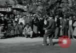 Image of tourists at Seminole Native American Indian trading post Miami Florida USA, 1936, second 15 stock footage video 65675031908