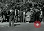 Image of tourists at Seminole Native American Indian trading post Miami Florida USA, 1936, second 17 stock footage video 65675031908