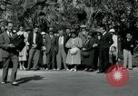 Image of tourists at Seminole Native American Indian trading post Miami Florida USA, 1936, second 18 stock footage video 65675031908