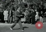 Image of tourists at Seminole Native American Indian trading post Miami Florida USA, 1936, second 19 stock footage video 65675031908