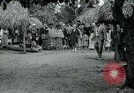 Image of tourists at Seminole Native American Indian trading post Miami Florida USA, 1936, second 34 stock footage video 65675031908