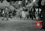 Image of tourists at Seminole Native American Indian trading post Miami Florida USA, 1936, second 38 stock footage video 65675031908