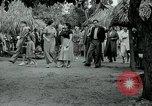 Image of tourists at Seminole Native American Indian trading post Miami Florida USA, 1936, second 39 stock footage video 65675031908