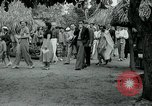 Image of tourists at Seminole Native American Indian trading post Miami Florida USA, 1936, second 40 stock footage video 65675031908