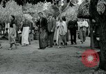 Image of tourists at Seminole Native American Indian trading post Miami Florida USA, 1936, second 41 stock footage video 65675031908