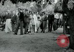 Image of tourists at Seminole Native American Indian trading post Miami Florida USA, 1936, second 42 stock footage video 65675031908