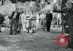 Image of tourists at Seminole Native American Indian trading post Miami Florida USA, 1936, second 44 stock footage video 65675031908