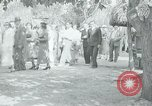 Image of tourists at Seminole Native American Indian trading post Miami Florida USA, 1936, second 45 stock footage video 65675031908