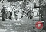 Image of tourists at Seminole Native American Indian trading post Miami Florida USA, 1936, second 46 stock footage video 65675031908