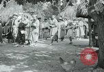 Image of tourists at Seminole Native American Indian trading post Miami Florida USA, 1936, second 47 stock footage video 65675031908