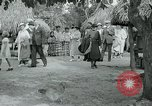 Image of tourists at Seminole Native American Indian trading post Miami Florida USA, 1936, second 52 stock footage video 65675031908