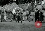 Image of tourists at Seminole Native American Indian trading post Miami Florida USA, 1936, second 53 stock footage video 65675031908
