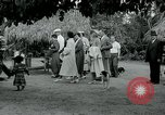 Image of tourists at Seminole Native American Indian trading post Miami Florida USA, 1936, second 60 stock footage video 65675031908