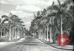Image of car on a road Miami Florida USA, 1936, second 2 stock footage video 65675031913