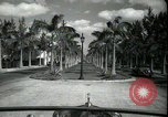 Image of car on a road Miami Florida USA, 1936, second 20 stock footage video 65675031913