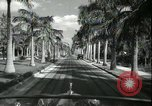 Image of car on a road Miami Florida USA, 1936, second 43 stock footage video 65675031913