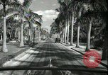 Image of car on a road Miami Florida USA, 1936, second 45 stock footage video 65675031913