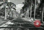 Image of car on a road Miami Florida USA, 1936, second 46 stock footage video 65675031913