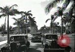 Image of car on a road Miami Florida USA, 1936, second 60 stock footage video 65675031913