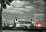 Image of The Breakers Hotel Palm Beach Florida USA, 1936, second 15 stock footage video 65675031914