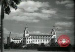 Image of The Breakers Hotel Palm Beach Florida USA, 1936, second 18 stock footage video 65675031914