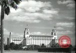 Image of The Breakers Hotel Palm Beach Florida USA, 1936, second 22 stock footage video 65675031914