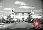 Image of The Breakers Hotel Palm Beach Florida USA, 1936, second 23 stock footage video 65675031914
