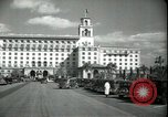 Image of The Breakers Hotel Palm Beach Florida USA, 1936, second 42 stock footage video 65675031914