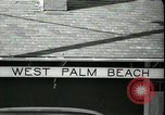 Image of tourists West Palm Beach Florida USA, 1936, second 2 stock footage video 65675031916