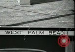 Image of tourists West Palm Beach Florida USA, 1936, second 3 stock footage video 65675031916
