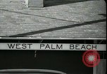 Image of tourists West Palm Beach Florida USA, 1936, second 6 stock footage video 65675031916