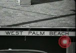 Image of tourists West Palm Beach Florida USA, 1936, second 8 stock footage video 65675031916