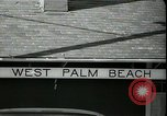 Image of tourists West Palm Beach Florida USA, 1936, second 9 stock footage video 65675031916