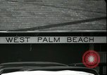 Image of tourists West Palm Beach Florida USA, 1936, second 22 stock footage video 65675031916