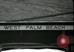 Image of tourists West Palm Beach Florida USA, 1936, second 24 stock footage video 65675031916