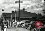 Image of tourists West Palm Beach Florida USA, 1936, second 37 stock footage video 65675031916