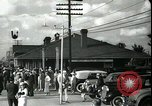Image of tourists West Palm Beach Florida USA, 1936, second 38 stock footage video 65675031916